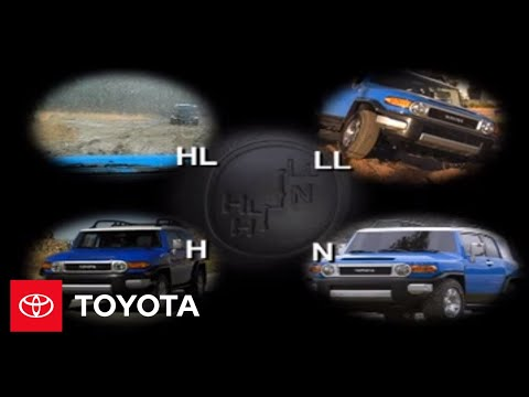 2007 - 2009 FJ Cruiser How-To: Full-Time 4-Wheel Drive Overview | Toyota