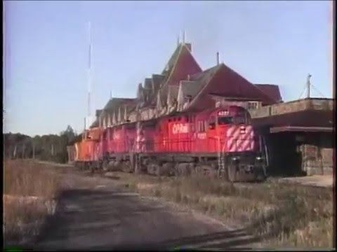 CP Rail in Maine, New Brunswick & Quebec