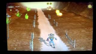 Gunstringer gameplay Canyon level 4