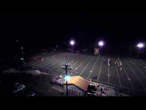 Rebel Playoff Football vs Rush City 40-42 10/25/16