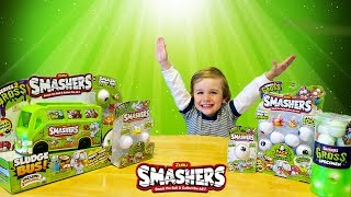 ZURU SMASHERS SERIES 2: GROSS | Toy Review for kids