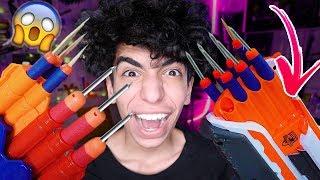 اخطر لعبة في العالم !  *طلع دم * ( سلاح من صنع يد !!!)