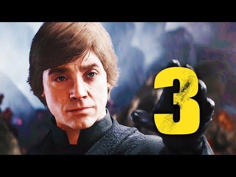 STAR WARS BATTLEFRONT 2 ПРОХОЖДЕНИЕ - ЛЮК СКАЙУОКЕР И ПРОГУЛКА НА AT-AT #3