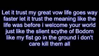 children of bodom triple corpse hammerblow lyrics