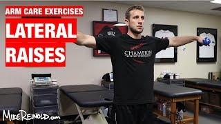 Lateral Raise Exercise - Arm Care Shoulder Program
