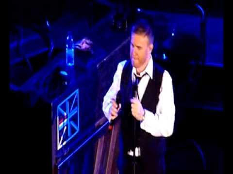Gary Barlow - 'Never Forget' + 'Rule the World' at his 40th Birthday Show - SBE