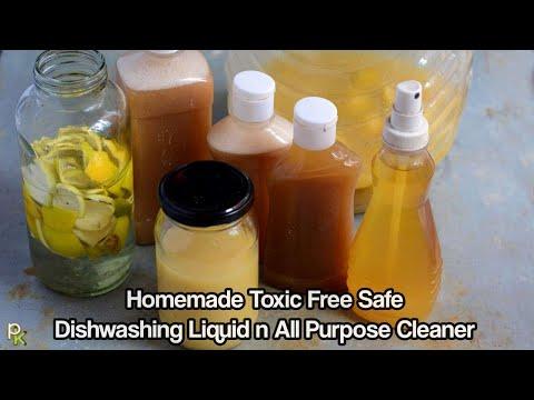 Natural-Safe-NonToxic Dish Washing