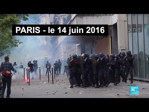 Paris assaillie par les casseurs, l'hôpital Necker ciblé - Retour sur les violences du 14/06/16 Mp3