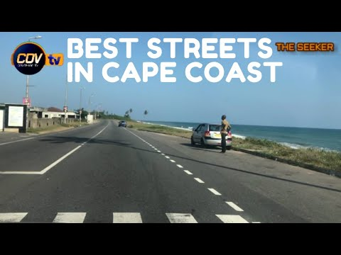 Best and Most Beautiful Streets in Cape Coast, Ghana: Enjoy the ride with the Seeker Ghana.