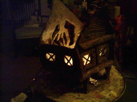 Haunted Village lantern