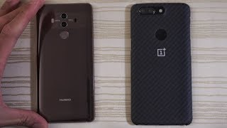 Huawei Mate 10 Pro vs OnePlus 5T - Speed Test!