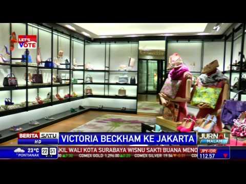 Wow, Victoria Beckham Datang ke Jakarta
