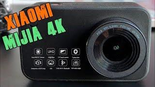 Xiaomi Mijia 4K Action Camera Обзор | Недорогая Экшн с Честным 4K + Водонепроницаемый Защитный Чехол. Фотокамера Xiaomi Обзор