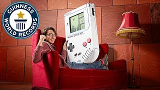 Largest game boy - meet the record breakers