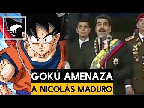 Revelan que Gokú fue quien atentó contra Nicolás Maduro - Carlos Chavira