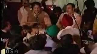 Sardar Ji With Ustad Nusrat Fateh Ali Khan Saab .....