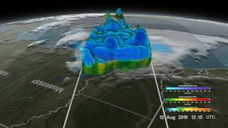 Global Precipitation Measurement visions Louisiana floods