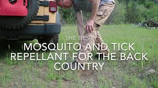 The Best Mosquito and Tick Defense for Camping Backpacking