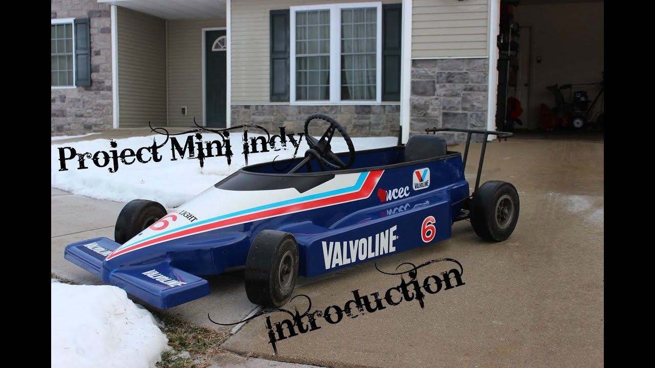 Mini Indy Go Kart project introduction - YouTube