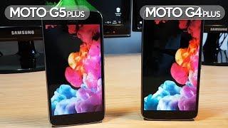 Moto G5 Plus vs Moto G4 Plus - Comparativa