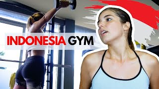 ROUTINE GYM IN BALI INDONESIA WITH A BRAZILIAN GIRL