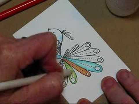 Using Colored Pencils with Mineral Spirits