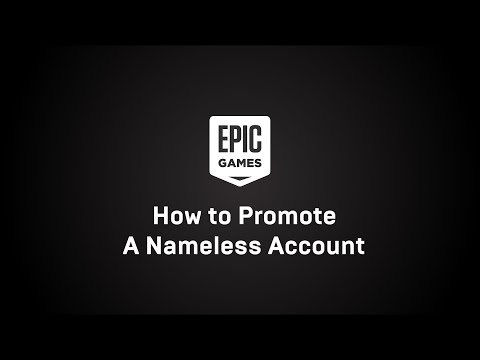 How To Connect And Link A Nameless Account For Fortnite And Epic Games | Epic Games Support