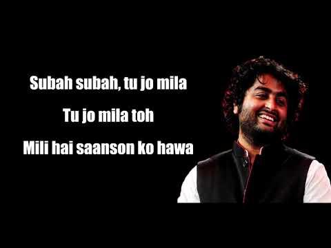 Subah Subah Lyrics - Arijit Singh, Prakriti Kakar - Amaal Mallik - Sonu Ke Titu Ki Sweety