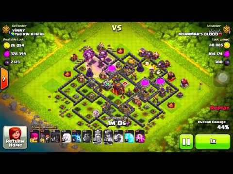 Clash of Clans - Myanmar Queen Walk