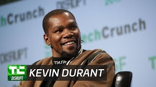 Kevin Durant regrets the way he interacted with fans on Twitter | Disrupt SF 2017