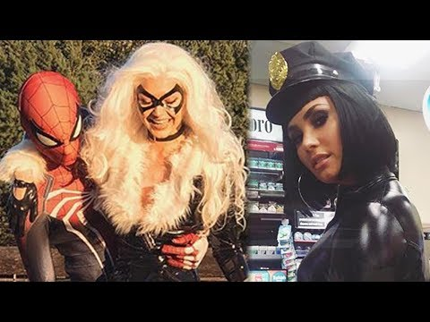 15 BEST Celeb Halloween 2017 Costumes