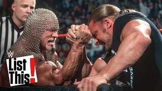 Download 5 most intense Arm Wrestling Matches: WWE List This! Mp3 and Videos