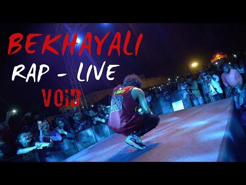 Bekhayali Rap - VOID   Live Show   Kabir Singh