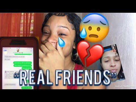 """REAL FRIENDS"" Lyric Prank 💔😰 on Bestfriend 👭"