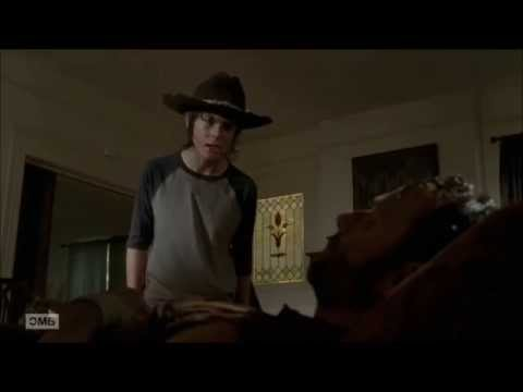 The Walking Dead 4x09 - Carl Yells at Rick