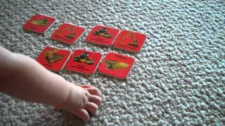 Early Learning with Marta & Eaton-finding pairs, matching activity.MP4