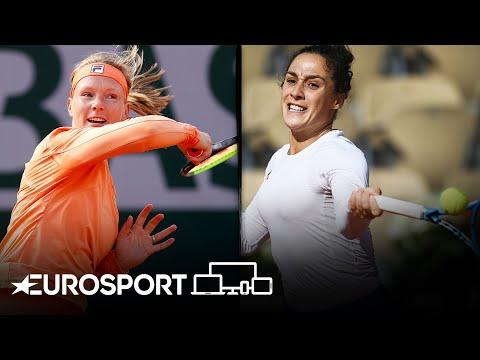 Martina Trevisan vs Kiki Bertens   Roland Garros 2020 - Round 4  Highlights   Tennis   Eurosport