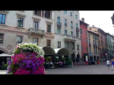 Bergamo Centro, Città Bassa video tour 2016