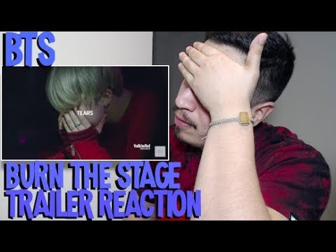 Special Trailer: Burn The Stage BTS Reaction