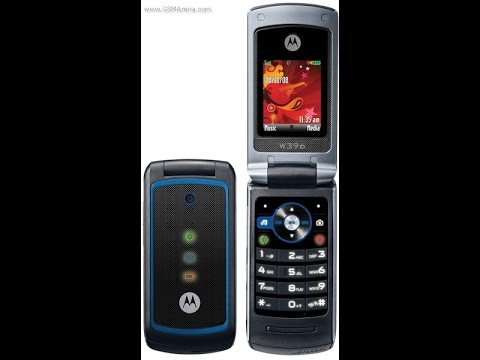 Motorola W396 ringtones on Sony Ericsson K770I