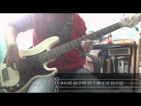 Muse's week - 04 - Hyper Music [Bass Cover + Tab]