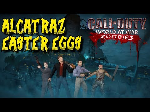 ALCATRAZ - ALL THE EASTER EGGS: *AMAZING NEW* MOB OF THE DEAD REMAKE