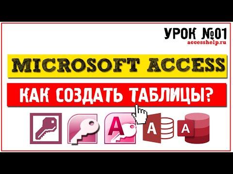 Как пользоваться microsoft access