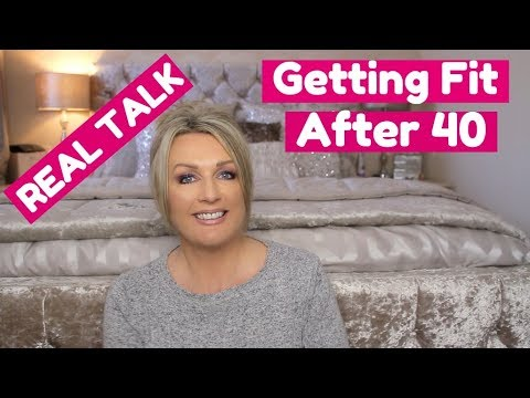 Getting Fit and Healthy After 40 - Exercise and Diet, My Journey /*REAL TALK*