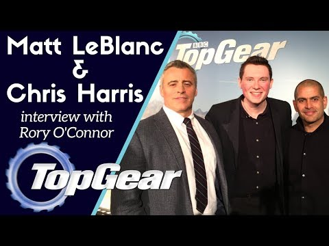 Top Gear: Matt LeBlanc and Chris Harris interview with Rory O'Connor