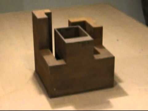 esculturas acero corten