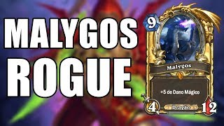 MALYGOS ROGUE  PROJETO CABUM ( Ladino ) | Hearthstone