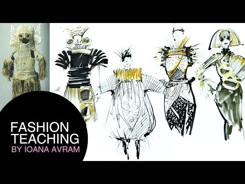 How designers turn inspiration into fashion collections