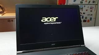 Acer Aspire V Nitro (VN7-791) Boot time M.2 SSD (Kingston)