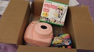 Fuijifilm Instax Mini 8 Polaroid Camera Unboxing!